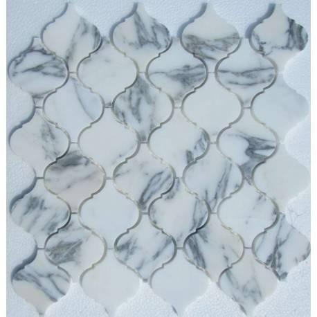 FK Marble Arabesco Arabescato 62x74 каменная мозаика-плитка