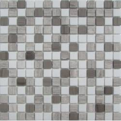 FK Marble Mix Dark Grey 20-4T каменная плитка-мозаика