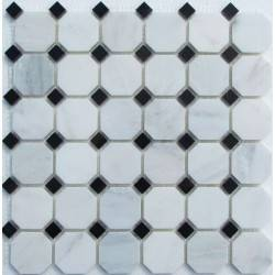 FK Marble M008+M009-BP каменная плитка-мозаика