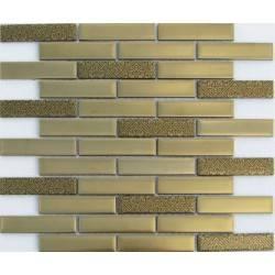 Stripes Matt Gold 23*98