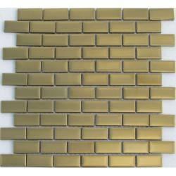 Stripes Matt Gold 23*48