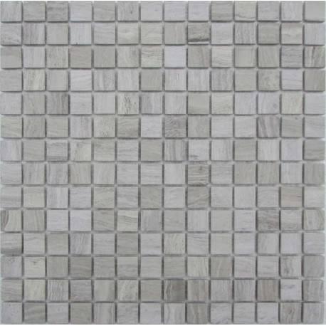FK Marble White Wooden 20-4T каменная плитка-мозаика