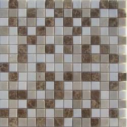 FK Marble Mix White Cream 20-6P каменная плитка-мозаика
