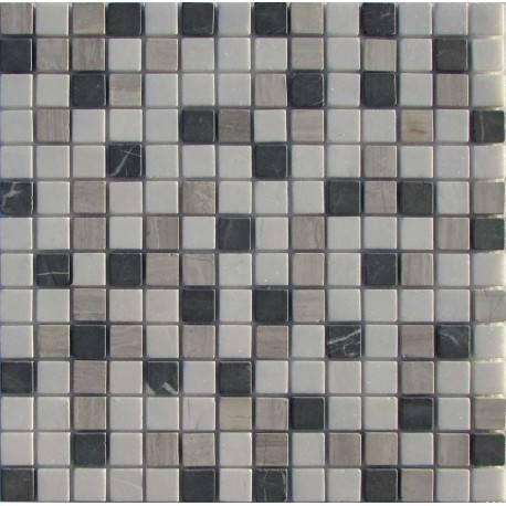 FK Marble Mix Black Grey 20-4T каменная плитка-мозаика