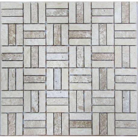 FK Marble Travertine 48x15-7M мозаика из травертина