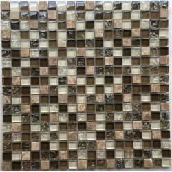 LIYA Mosaic Krit 7 микс стеклянной и каменной плитки-мозаики