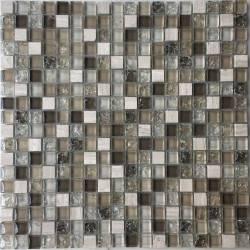 LIYA Mosaic Krit 8 микс стеклянной и каменной плитки-мозаики