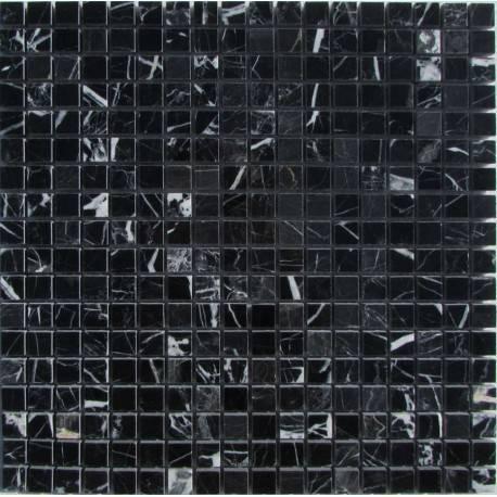 FK Marble M081-15-8P Nero Marquina каменная плитка-мозаика