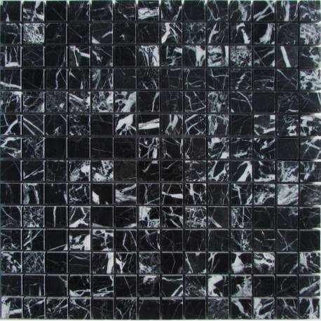 FK Marble M081-20-8P Nero Marquina каменная плитка-мозаика