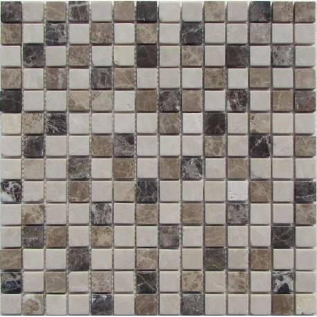 FK Marble Mix Emperador 20-6T каменная плитка-мозаика