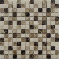 FK Marble Mix Emperador 20-6P каменная плитка-мозаика
