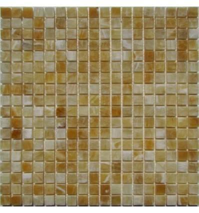 FK Marble M073-15-8P Onyx Yellow плитка-мозаика из оникса