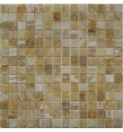 FK Marble M073-20-8P Onyx Yellow плитка-мозаика из оникса