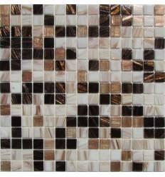 HK Pearl Mix Chocolate стеклянная плитка-мозаика