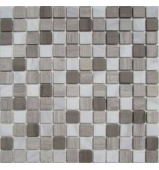 FK Marble Mix Dark Grey 23-4T каменная плитка-мозаика