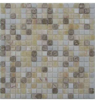FK Marble White Cream 15-4T каменная плитка-мозаика