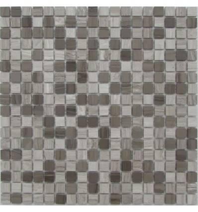 FK Marble Mix Grey Velvet 15-4P каменная плитка-мозаика