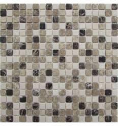 FK Marble Mix Emperador 15-4T каменная плитка-мозаика