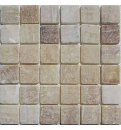FK Marble M073-48-10T Onyx Yellow плитка-мозаика из оникса