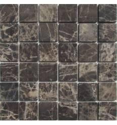 FK Marble Emperador Dark 48-6T каменная плитка-мозаика