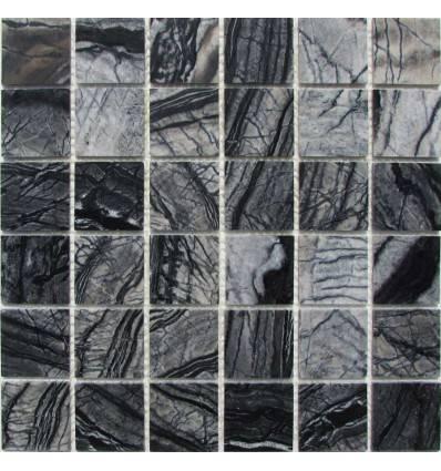 FK Marble Imperial Grey 48-4P каменная плитка-мозаика