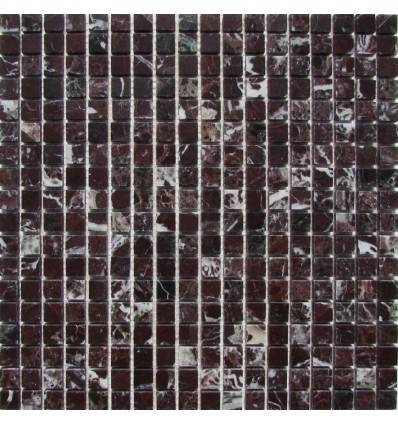 FK Marble Rosso Levanto 15-6P каменная плитка-мозаика