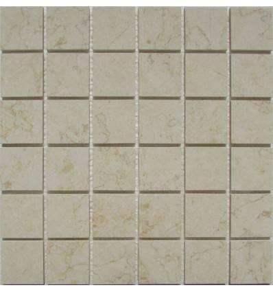 FK Marble Botticino 48-6P каменная плитка-мозаика