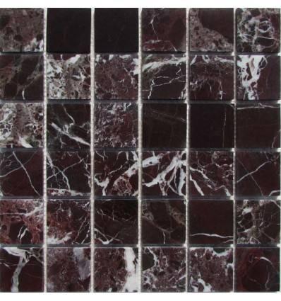 FK Marble Rosso Levanto 48-6P каменная плитка-мозаика