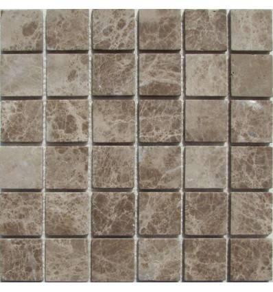 FK Marble Emperador Light 48-6T каменная плитка-мозаика