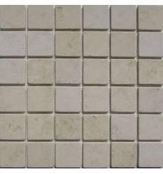 FK Marble Botticino 48-6T каменная плитка-мозаика