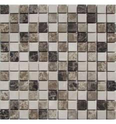 FK Marble Mix Emperador 23-6T каменная плитка-мозаика