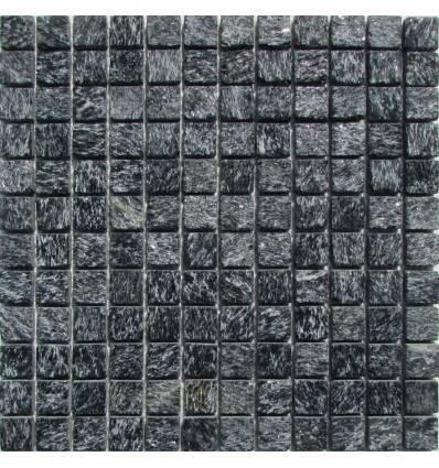 FK Marble Shiny Black 23 плитка-мозаика из сланца
