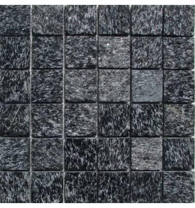 FK Marble Shiny Black 48 плитка-мозаика из сланца