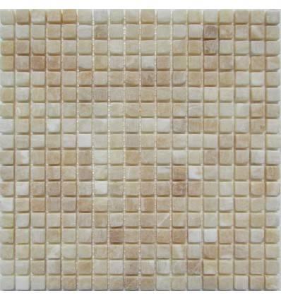 FK Marble M073-15-8T Onyx Yellow плитка-мозаика из оникса