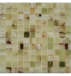 FK Marble Onyx Jade Verde 23-6P плитка-мозаика из оникса