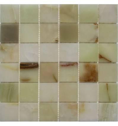 FK Marble Onyx Jade Verde 48-6P плитка-мозаика из оникса