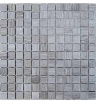 FK Marble White Wooden 23-4P каменная мозаика-плитка