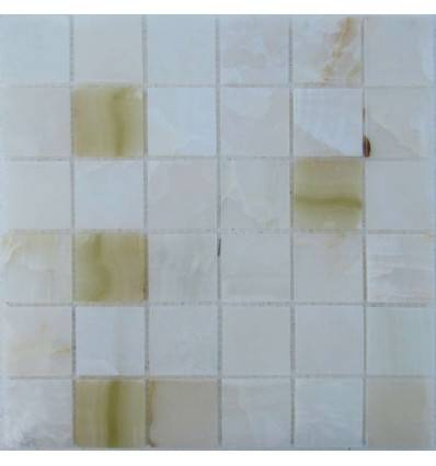 FK Marble White Onyx 48-6P мозаика из оникса