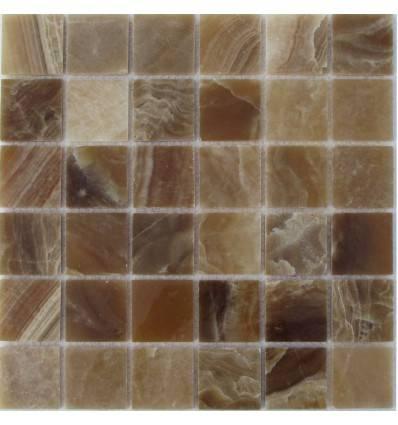 FK Marble Caramel Onyx 48-8P мозаика из оникса