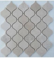 FK Marble Arabesco Crema Nova 62x74 каменная мозаика-плитка