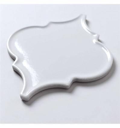 LIYA Mosaic Porcelain Arabesko Plate White 160 мозаика керамическая