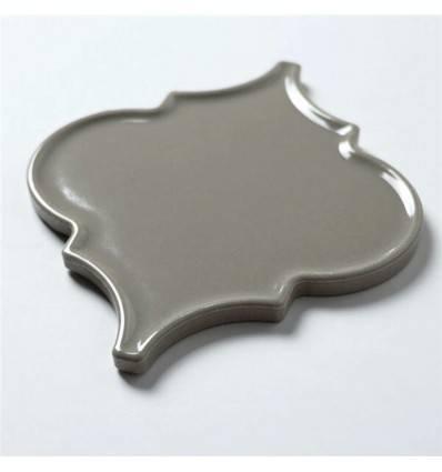 LIYA Mosaic Porcelain Arabesko Plate Grey 160 мозаика керамическая