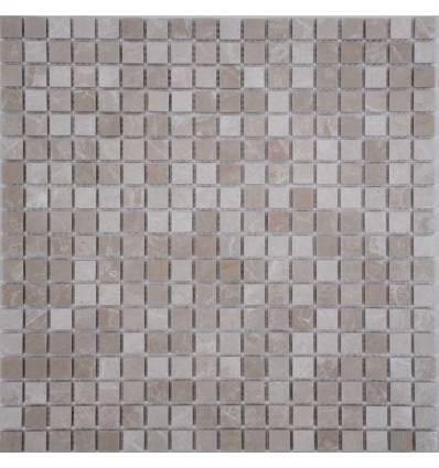FK Marble Crema Marfil 15-6P каменная плитка-мозаика
