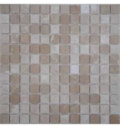 FK Marble Crema Marfil 23-6P каменная плитка-мозаика