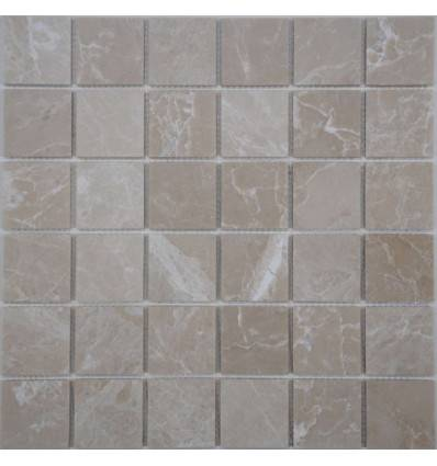 FK Marble Crema Marfil 48-6P каменная плитка-мозаика