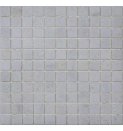 FK Marble Glacial White 25-4T каменная плитка-мозаика