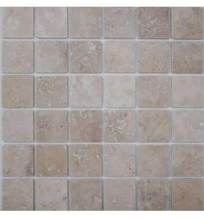FK Marble Light Travertine 48-4T плитка-мозаика из травертина