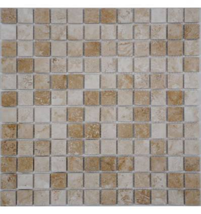 FK Marble Light Travertine 23-6P плитка-мозаика из травертина
