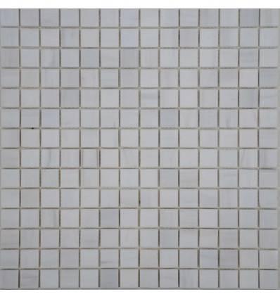 FK Marble White Dolomite 20-6P каменная плитка-мозаика