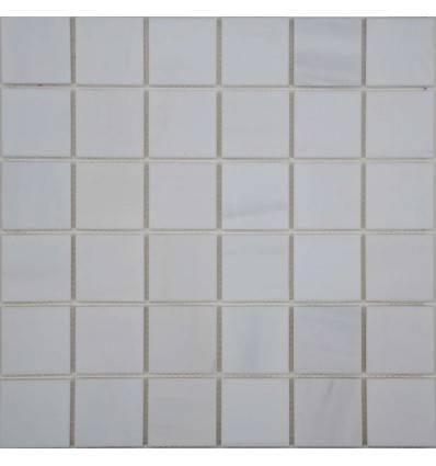 FK Marble White Dolomite 48-6P каменная плитка-мозаика